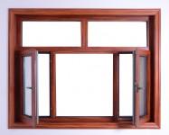 DA75木纹隔热窗